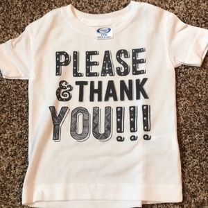 Other - Please & Thank you tee
